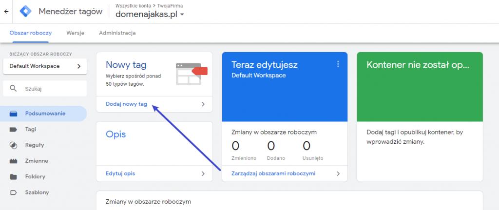 Facebook Pixel i Google Tag Manager