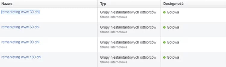 Klocki.edu.pl - kampania sprzedażowa Facebook Ads dla e-commerce