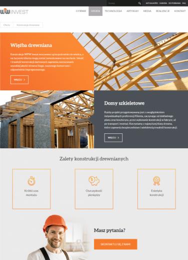 Nowy projekt strony UX