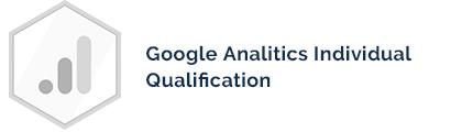 Certyfikat Google Analitics Individual