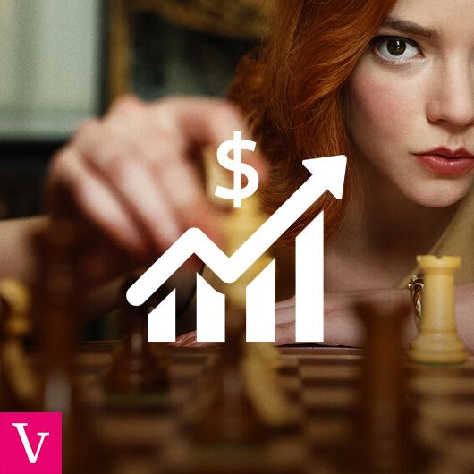 Jak wzrosło zainteresowanie szachami przez produkcję Netflixa?