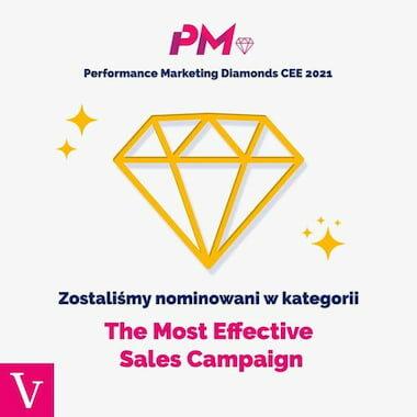 Performance marketing diamonds veneo